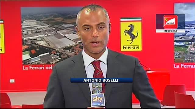 """Nuova era Ferrari, Marchionne: """"L'azienda resta in Italia"""""""