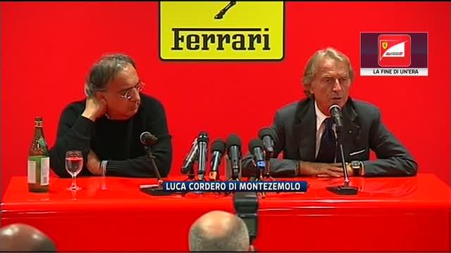 Ferrari-Montezemolo, la fine di un'era