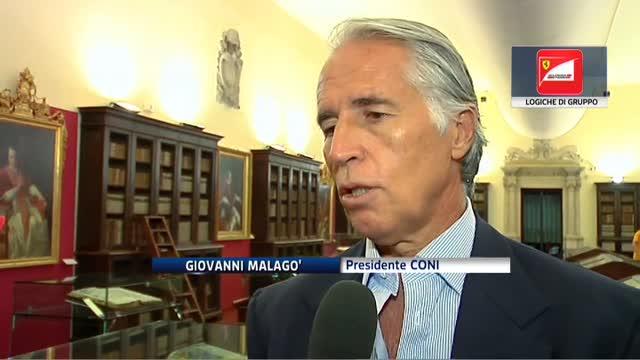 """Addio di Montezemolo, Malagò: """"Logiche del gruppo Fiat"""""""