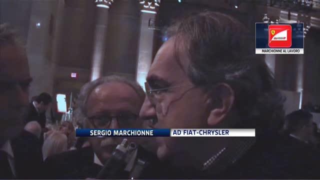 """Marchionne: """"Ferrari, miglioreremo performance azienda"""""""