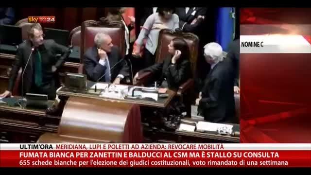 CSM, fumata bianca per Zanettin e Balducci. Stallo Consulta