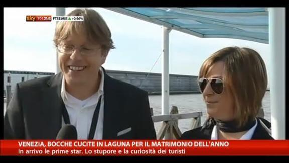 Venezia blindata per il matrimonio di Clooney e Amal