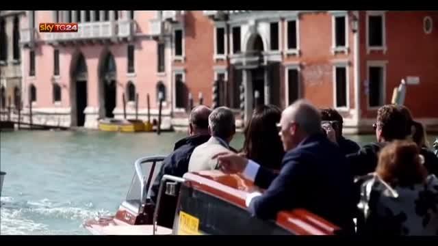 Venezia, tutto pronto per nozze tra Clooney e Amal Alamuddon