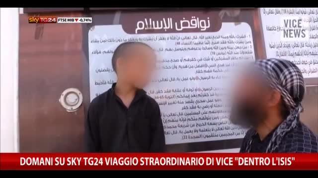 """Domani su SkyTG24 il viaggio di Vice """"Dentro l'ISIS"""""""