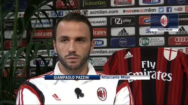 Pazzini promette: porteremo il Milan dove merita