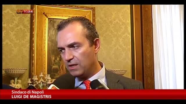 De Magistris non molla: resterò fino al 2016