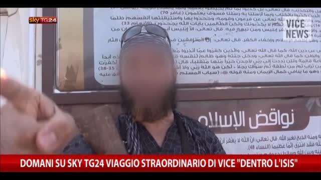 Dentro l'Isis: reportage Vice su SkyTG24: giovedì ore 20.20