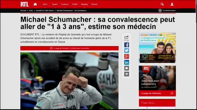 """Schumi, il medico di Grenoble: """"Tre anni per il recupero"""""""
