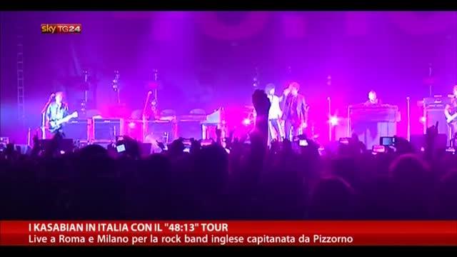 """I Kasabian in Italia con il """"48:13"""" Tour"""