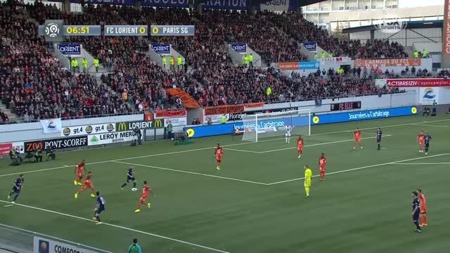 Lorient-Paris Saint-Germain 1-2
