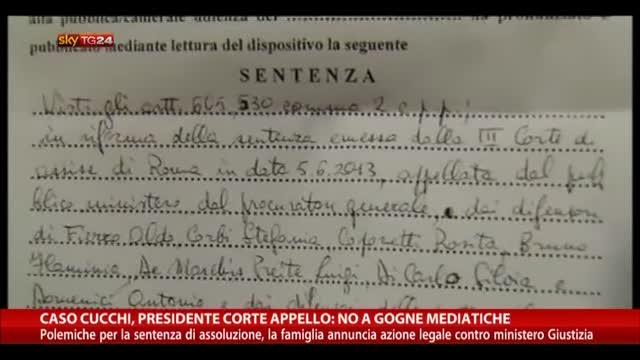"""Caso Cucchi, presidente Corte Appello: """"No gogne mediatiche"""""""