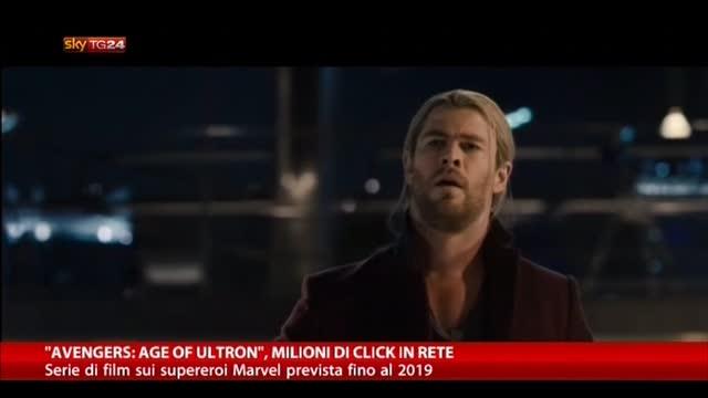 """""""Avengers: Age of Ultron"""", milioni di click in rete"""