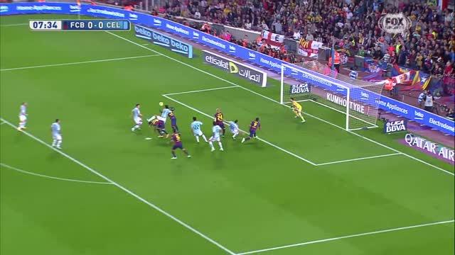 Barcellona-Celta Vigo 0-1