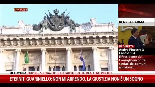 """Eternit, Cassazione: """"Sentenza non riferita alle vittime"""""""