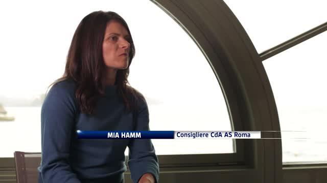 Sportstyle, la Roma di Mia Hamm
