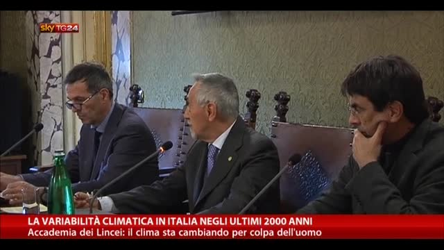 La variabilità climatica in Italia negli ultimi 2000 anni