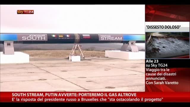 South Stream, Putin avverte: porteremo il gas altrove