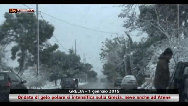 Grecia, ondata di gelo polare si intensifica sulla Grecia