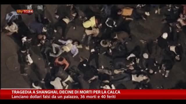 Tragedia a Shangai, decine di morti per la calca