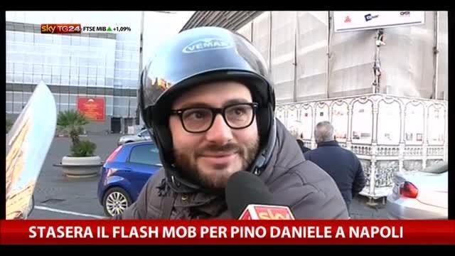 Stasera il flash mob per Pino Daniele a Napoli