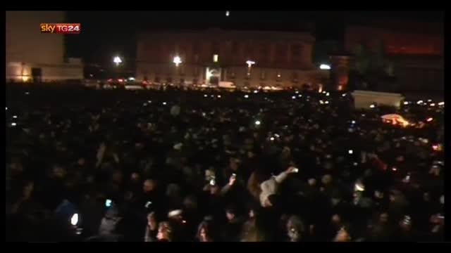 Napoli, in 100mila ricordano Pino Daniele. Oggi i funerali