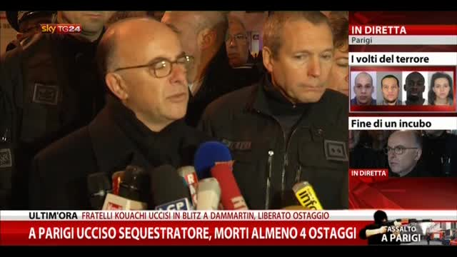 Ministro dell'Interno francese: garantiremo sicurezza