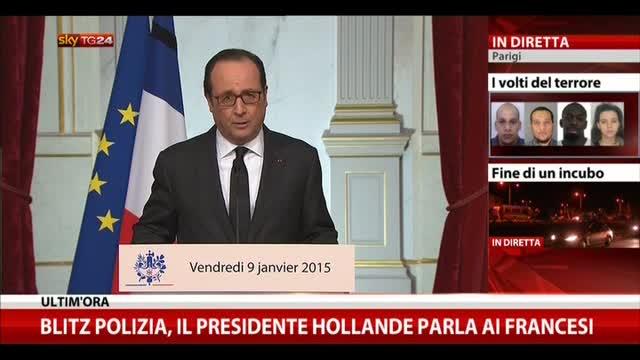 Hollande: solidarietà a famiglie vittime e feriti