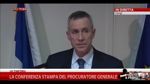 Francia, la conferenza stampa del Procuratore Generale