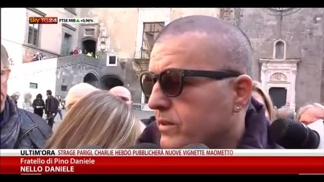 Pino Daniele, da oggi le ceneri esposte al Maschio Angioino