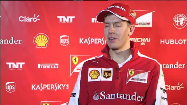 """Vettel: """"Ferrari, qui è tutto speciale. Amo il Rosso..."""""""