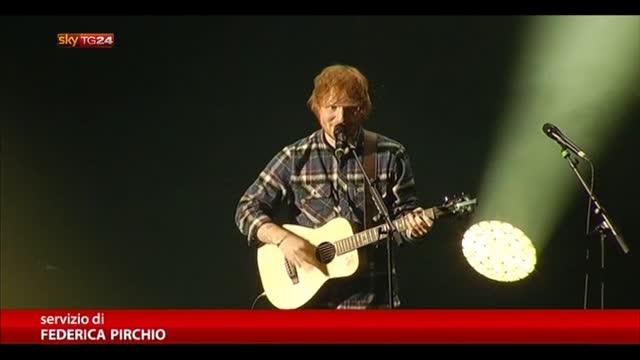 Ed Sheeran, tutto esaurito il Palalottomatica di Roma
