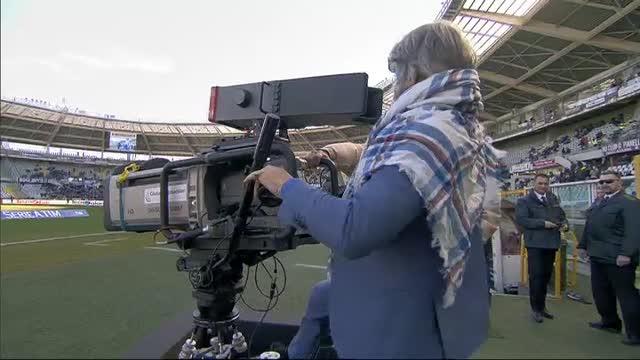 Torino-Sampdoria, Ferrero s'improvvisa cameraman