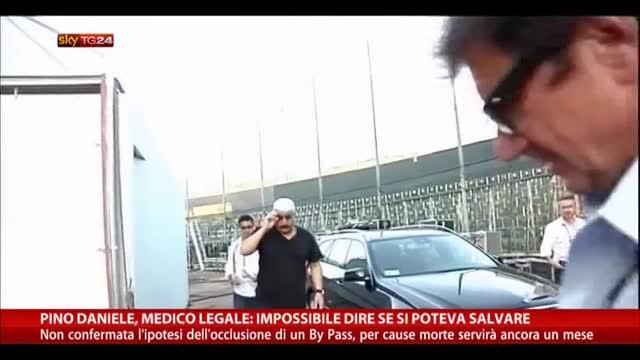 Pino Daniele, medico: impossibile dire se si poteva salvare