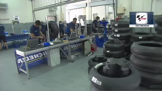 MotoGP, i test con le gomme Michelin