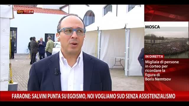 Faraone: Salvini punta su egoismo, no ad assistenzialismo
