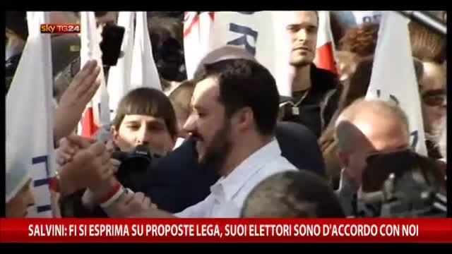 Salvini: FI si esprima su proposte Lega