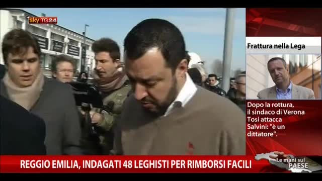 Reggio Emilia, indagati 48 leghisti per rimborsi facili