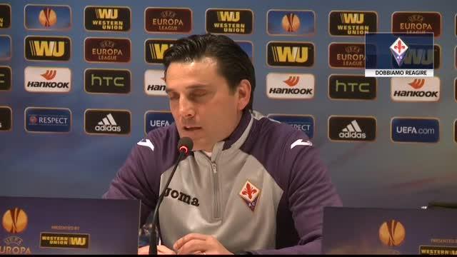 """Fiorentina, arriva la Roma. Montella: """"Reagiremo"""""""