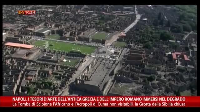 Napoli, arte antica greca e romana immersi nel degrado