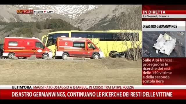 Disastro Germanwings, continuano ricerche resti vittime