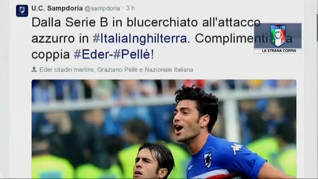 La strana coppia dell'Italia: Eder e Pellè