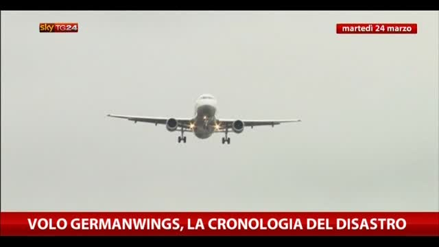 Volo Germanwings, la cronologia del disastro