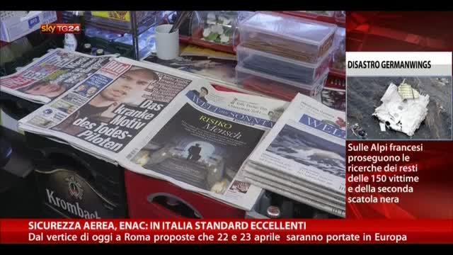 Sicurezza aerea, ENAC: in Italia standard eccellenti