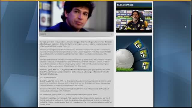 Parma, Albertini consulente del curatore fallimentare