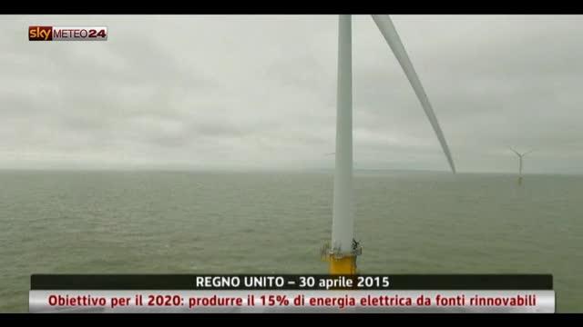 GB, obiettivo per 2020: 15% di energia da fonti rinnovabili