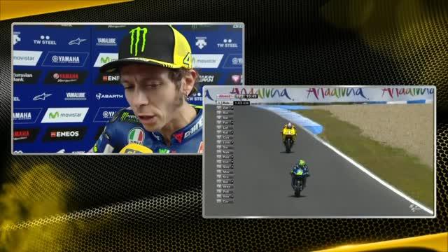 """Rossi: """"Sessione difficile, sono molto indietro"""""""