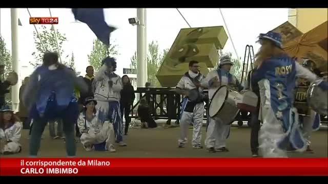 Expo, in 200 mila per ammirare i padiglioni internazionali