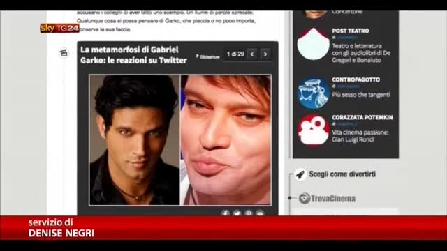 Gabriel Garko smentisce il gossip: nessun botox deformante