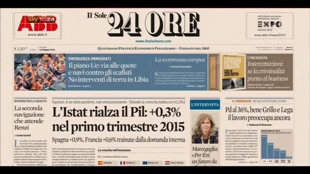 Rassegna stampa nazionale (14.05.2015)