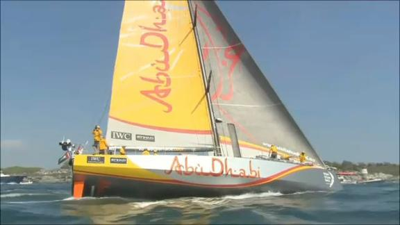 Volvo Ocean Race, la partenza da Newport